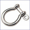 "Sea Dog Stainless Cast Bow Shackle 3/16"" 147054-1; 1/4"" 147056-1;  5/16"" 147058-1;  3/8"" 147060-1"