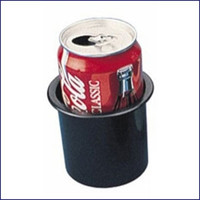 Sea Dog ABS Flush Mount Black Drink Holder 2-7/8""