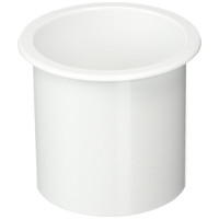 "Sea Dog ABS Flush Mount White Drink Holder 2-7/8""  588011-1"