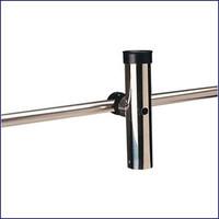 Sea Dog 327176-1 Stainless Rail Mount Rod Holder Adjustable