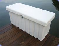 RomoTech 51x19x23 Med. Dock Box - White 82121289