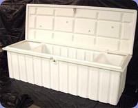 RomoTech 76x25x22.5 Lrg. Dock Box - White 82121349