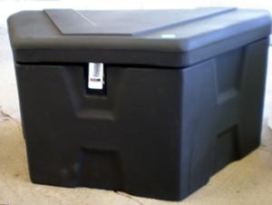 RomoTech Trailer Tongue Box - Black  88119317
