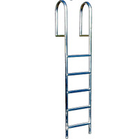 "International Dock Products 6SDLW4 6 Step Dock Ladder Wide 4"" Step"