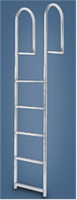 "International Dock Products 7SDLW4 7 Step Dock Ladder Wide 4"" Step"