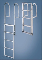 "International Dock Products  7SDLL4 7 Step Dock  Lifting  Ladder 4"" Step"