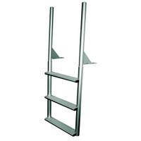 """International Dock Products 3SFPL4 3 Step  Finger Pier Ladder 4"""" Step"""