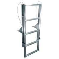 "International Dock Products 4SLFPL2 4 Step Lifting Finger Pier Ladder 2"" Step"