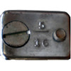 """Wire Rope Cable Clamp 5/16"""" - Chrome  WO-10031"""