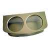 Two Insulated Drink Rack Beige Poly   WO-10104