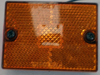 Amber Clearance Side Marker Trailer Light  2 3/4""