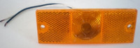 Amber Clearance Side Marker Trailer Light 4 1/2""