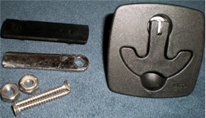 """2-1/2""""  Square T-handle Latch  WO-10192"""
