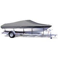 "Taylor Made V-Hull Runabout I/O Semi-Custom Boat Cover (Gray) 18'5"" - 19'4"" x 96""W 71726OG"