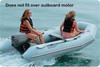 """Taylor Made Inflatable Sport Boat Semi-Custom Cover 10' 5""""  -  11' 4""""  x 66 """" with Gray   70128OG"""