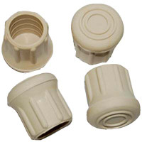 """Taylor Made 1"""" Rubber Chair Tips (4/pkg.)  96025"""