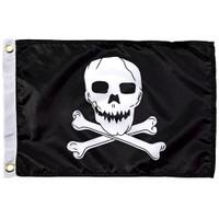 Taylor Made 12 x 18 Jolly Roger Flag  1818