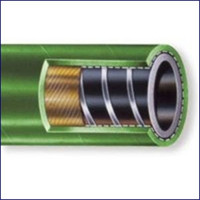 Nova Flex 1040B-01500 1 1/2 in Odor Block Green Rubber Sanitation Hose