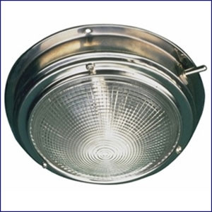 Sea Dog Stainless Dome Light 4 inch Lens  400190-1