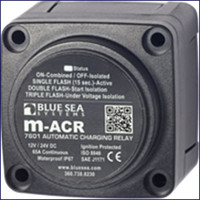 Blue Sea Systems 7601 Automatic Charging Relay 65A