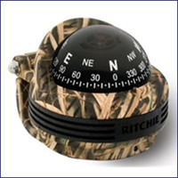 Ritchie TR-31S Trek Bracket Mount Compass 2 1/4 in Dial Camo
