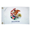 """Taylor Made 12"""" x 18"""" Illinois State Flag  93099"""