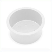 Plasform 1125 Large Short Drink Holder White