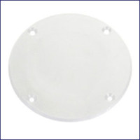 Plasform 896 4 in. Cover Plate - White