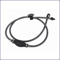 Attwood 93806HUSD7 Honda Fuel Line Assembly with Fuel Demand Valve