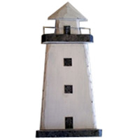 Wooden Light House Keybox