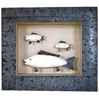 Decorative Fish Shadow Box  SHDWBX16