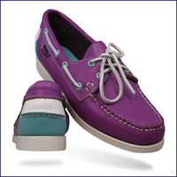 Sebago Women's Spinnaker Deck Shoe (Bright Purple) B58012