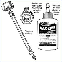 Davis 420 Cable Buddy Steering Lubrication