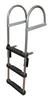 JIF Marine 4-Step Pontoon Transom Ladder EPZ4
