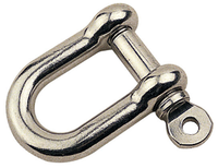 "Sea Dog D Shackle 3/16""  1/4""   147004-1 147006-1"