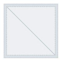 """Tri Vantage 020 Eisenglass Clear Color 54""""W x 1'"""