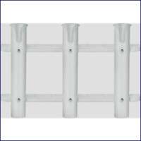 Seasense 50091430 Three Rod Holder White