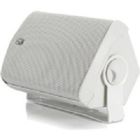 "Poly-Planar MA7500-W Compact 5"" x 7"" Box Speakers White"
