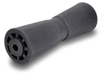 "Caliber Black Rubber Heavy Duty TPO 12"" Keel Rollers 25212-TPO"