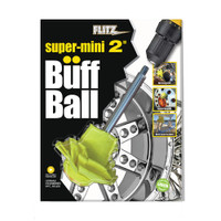 "Flitz Super Mini Yellow 2"" Clamshell Buff Ball"