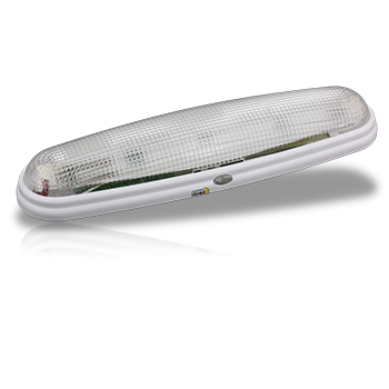 Lunasea Utility LED light, built-in switch, White LLB-01WD-81-00