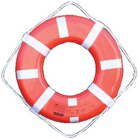 "Jim Buoy Life Ring - 24"" With Reflective Tape  GO-24T"