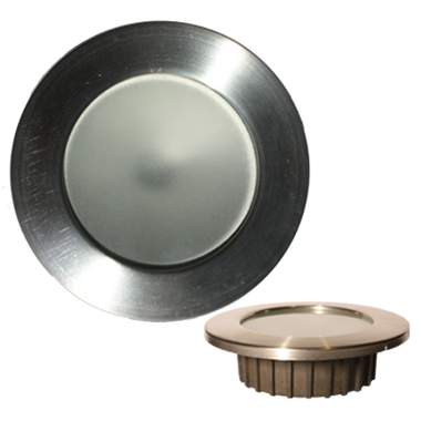 "Lunasea Recessed 3.75W COB LED, Recessed fixture, Warm White, H/L Switch 2.5"" hole LLB-46WW-2A-BN  LLB-46WW-2A-SS  LLB-46WW-2A-WH"