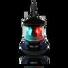 """Lunasea 12"""" Ultra Light LED Navigation Light Tri-Color Fixture  LLB-53BK-81-00"""
