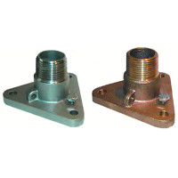 "Groco NPT Treads Bronze Flange Adaptor, 3/4"", 1"", 1-1/4""  IBVF-750 IBVF-1000 IBVF-1250 IBVF-750-S IBVF-1000-S IBVF-1250-S"