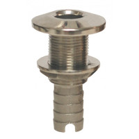 "Groco Stainless Thru Hull Fitting (3/4"" to 3/4"") or (3/4"" to 5/8"") Hose  HTH-625-S HTH-750-S"