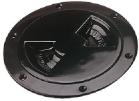 Sea Dog 337165-1 ABS Black Standard Deck Plate 6 in.