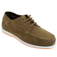Rugged Shark Men's Whaler Boat Shoes RS-WHALER (Brown)