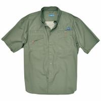 Rugged Shark® Men's Great White Shirt (Sage) 5101003