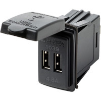 Blue Sea Systems Fast Charge - Dual USB Charger Switch Mount 1039